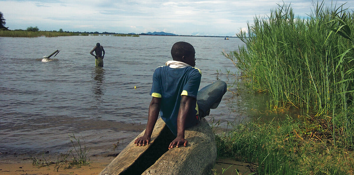 Fishermen in Malawi