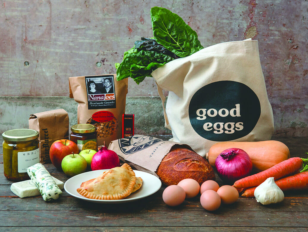 Good Eggs is one of the new online CSA-like models that gives consumers more flexibility. / Courtesy Good Eggs