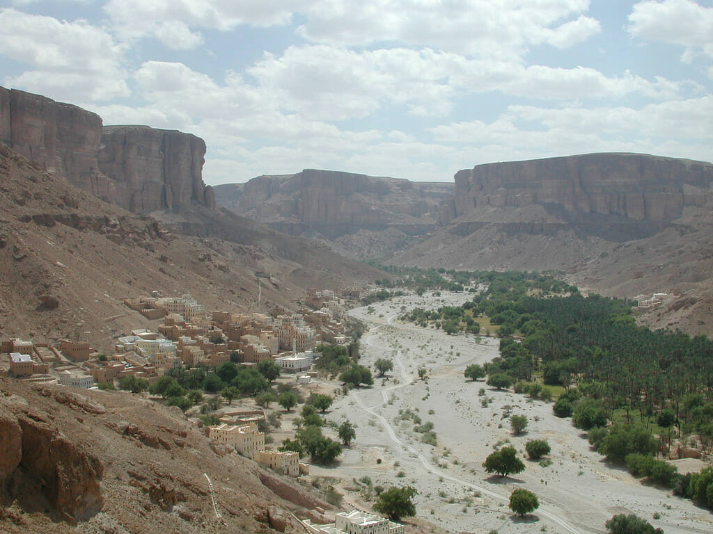 Wadi Do'an, Yemen, where Sidr honey is from. Photo:kebnekaise