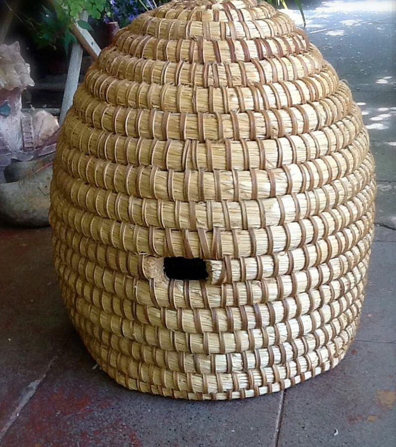 How To Build A Bee Skep Modern Farmer