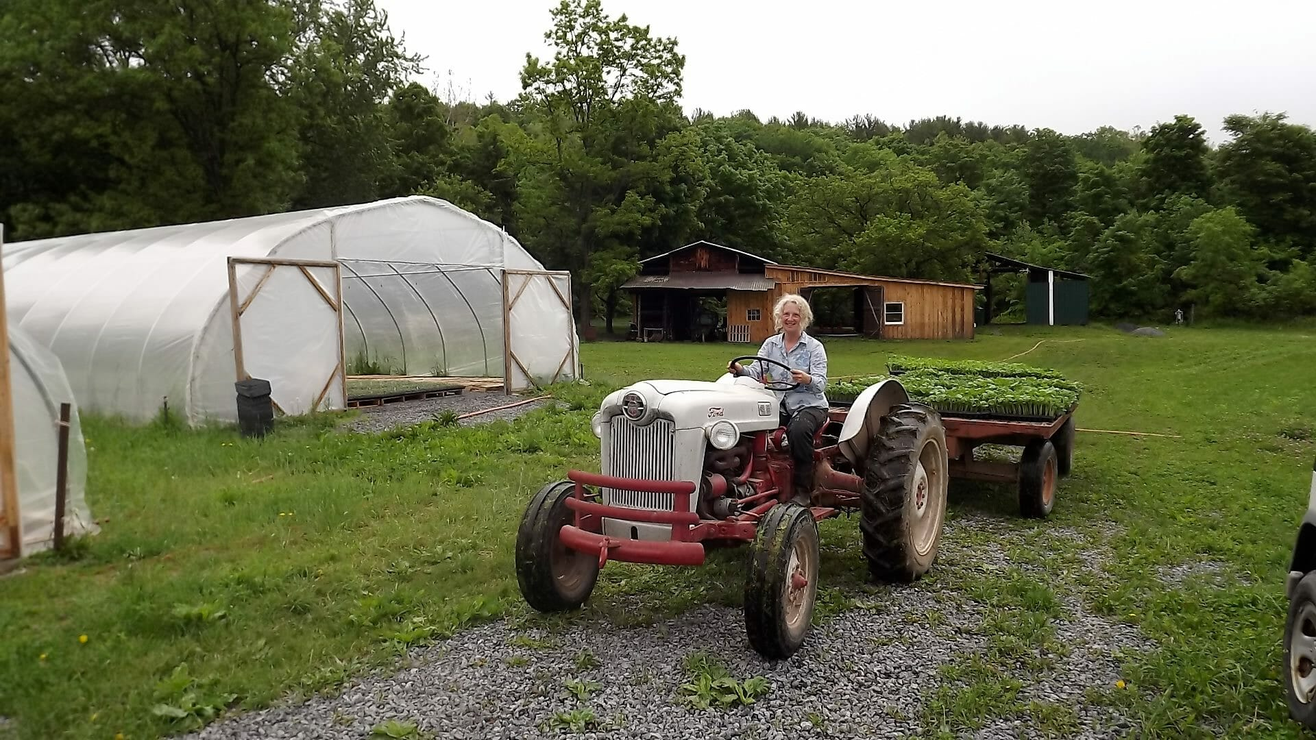Deb Kavakos, of Stoneledge Farm in New York, was an early adopter of the CSA model in the U.S. / Courtesy Stoneledge Farm