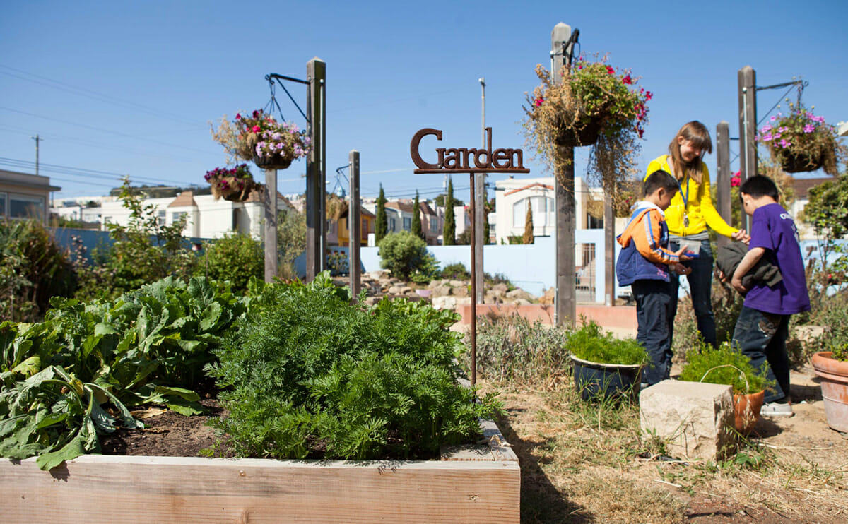 Turning School Gardens into Outdoor Classrooms