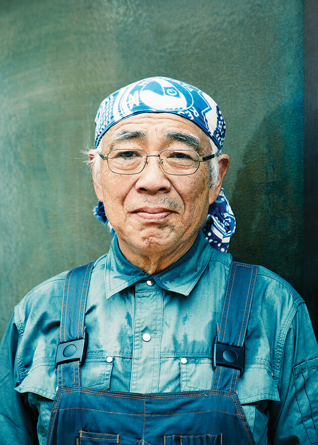Tadao Aida, factory founder and great-uncle of its current owner, Satoshi Aida.