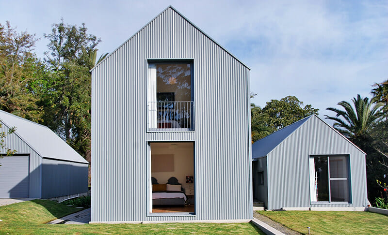 Corrugated iron house design house design for Corrugated iron home designs
