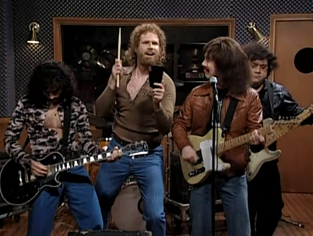 Saturday Night Live forever embeds the cowbell in the cultural conscious with an iconic 2000 Will Ferrell sketch featuring guest star Christopher Walken.