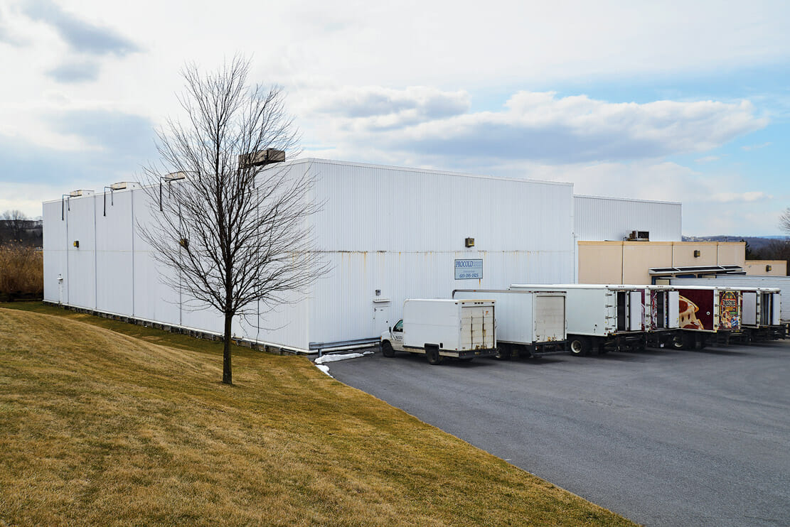 Procold Refrigerated Services in Allentown, Pennsylvania, the mid-Atlantic's logistics hub.
