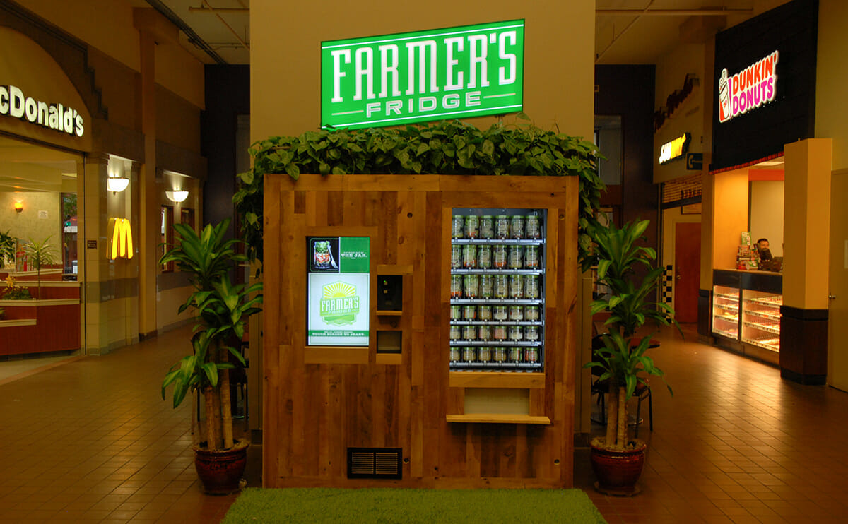 Startup Brings Fresh Food to Chicago e Vending Machine at a Time Modern