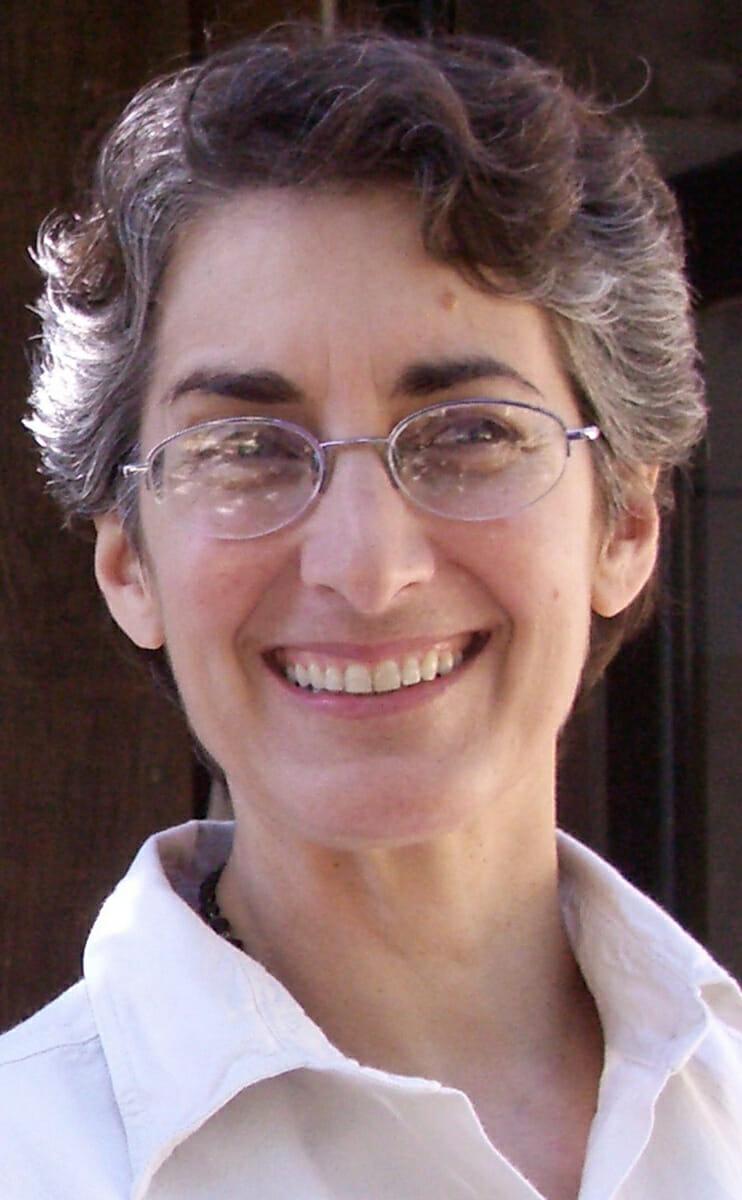 Michaela Terrio, who had been living as a hermit at Sky Farm in Sonoma, California for ten years. / Courtesy Sky Farm