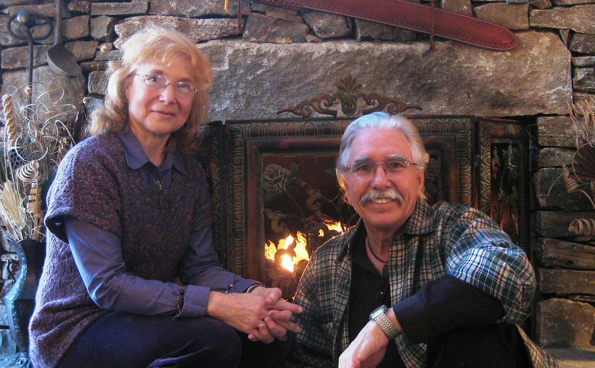 Karen and Paul Fredette run a newsletter and website for hermits, and have written a book on the hermit life./ Courtesy Karen and Paul Fredette