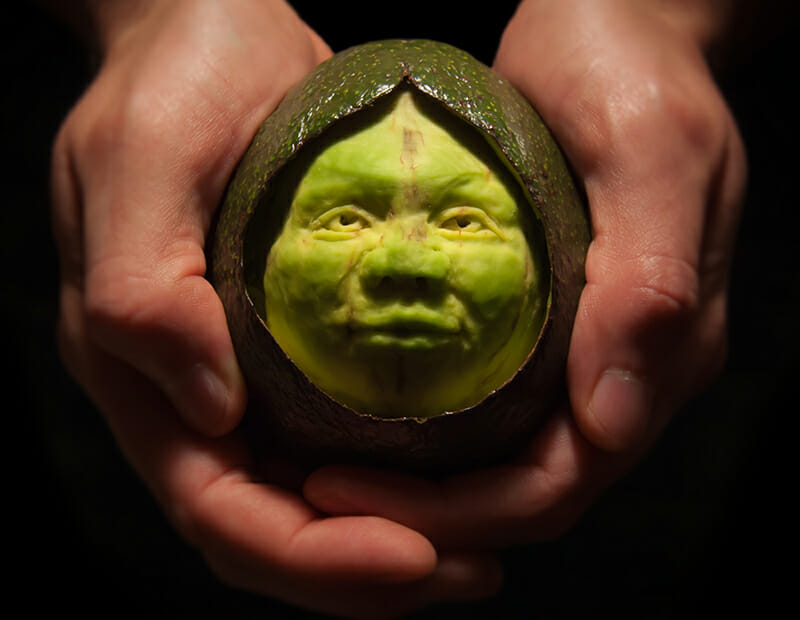 12 Next-Level Fruit and Veggie Sculptures - Modern Farmer