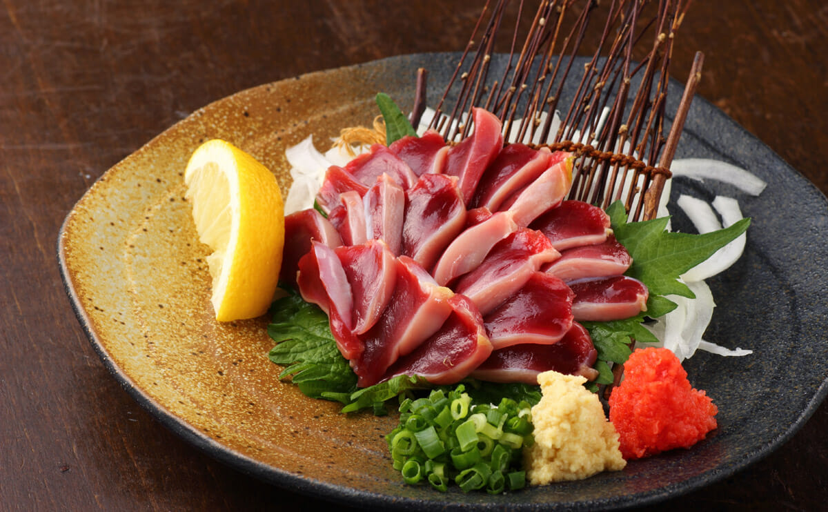 7 kinds of sashimi not made with fish modern farmer - Modern japanese cuisine ...