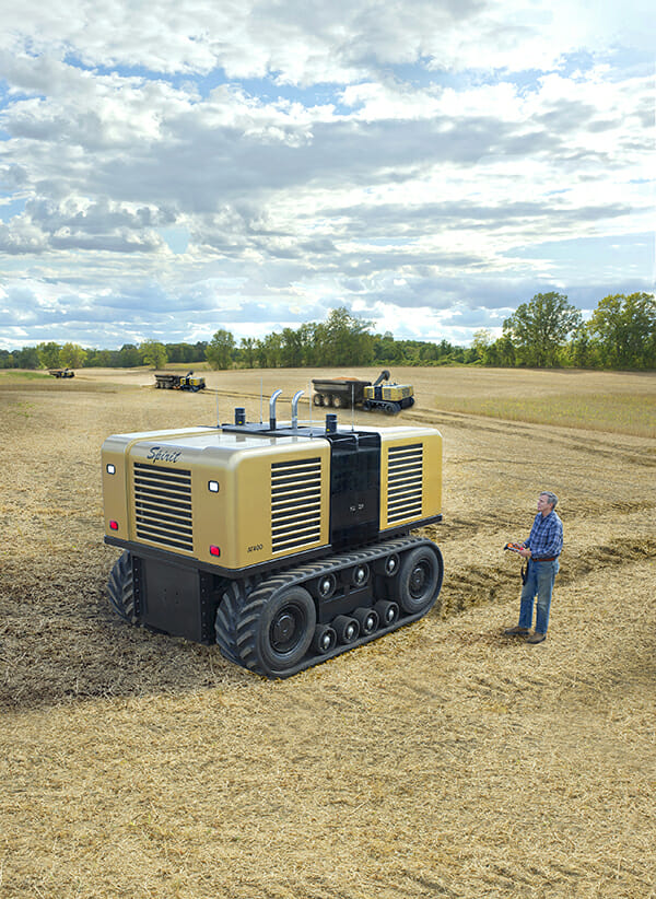 Spirit Autonomous Tractor