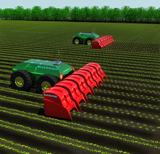 Blue River's automated vision for the future. Image courtesy of Blue River Technology.