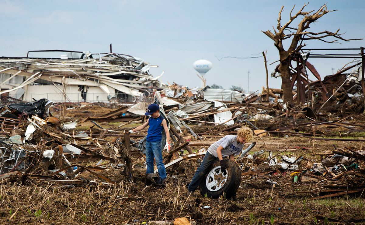After The Tornado Farm Cleanup Can Take Years Modern Farmer