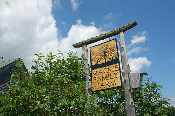 Mackie Family Farm, operated by MOFGA's Farmers-in-Residence