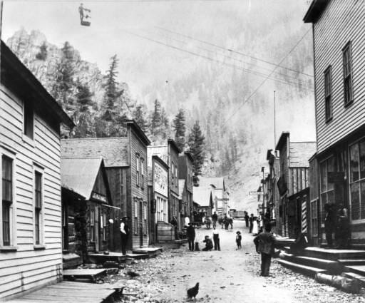 Scene in Upper Creede, Colorado