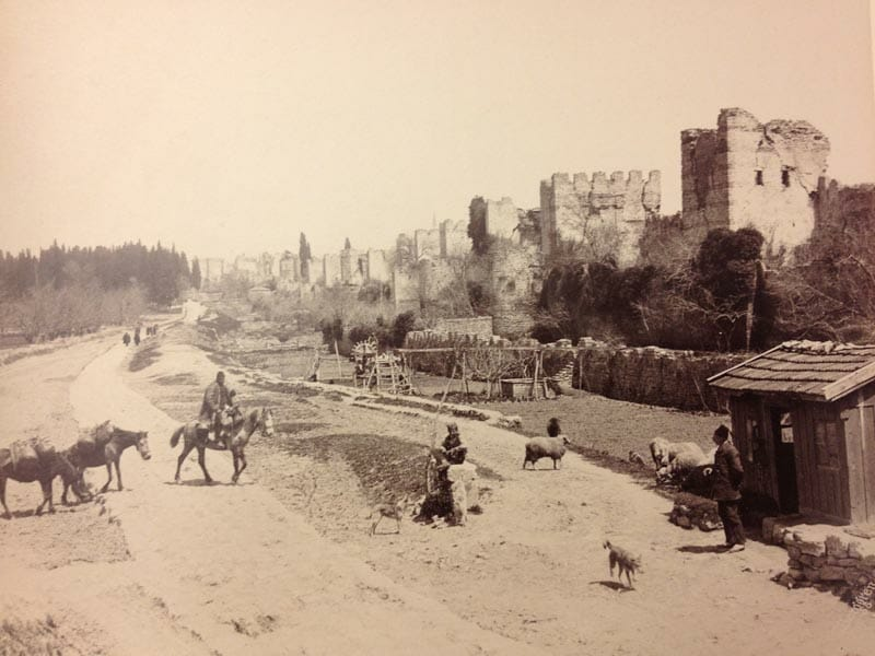 More Yedikule, in 1875. Photo by Guillaume Berggren.