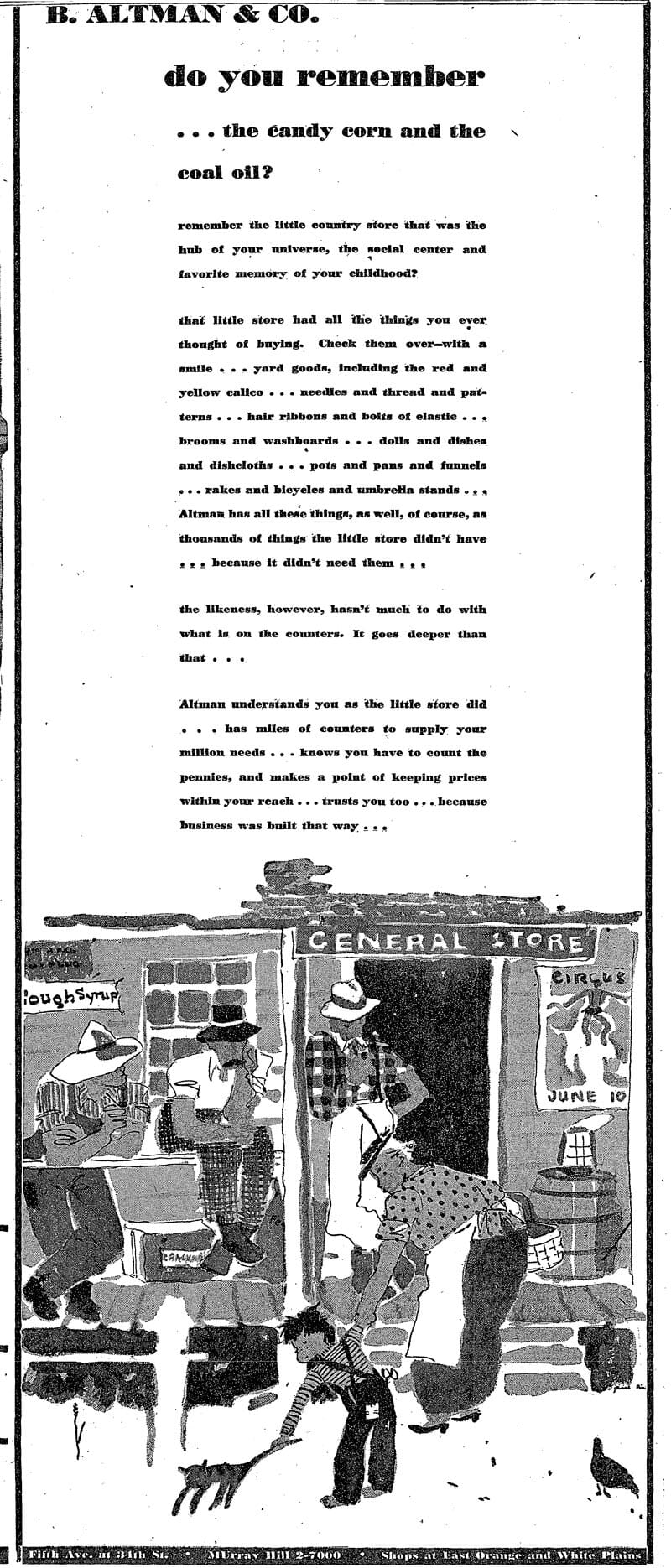 This June 10, 1934 from the New York Times banked on rural nostalgia.