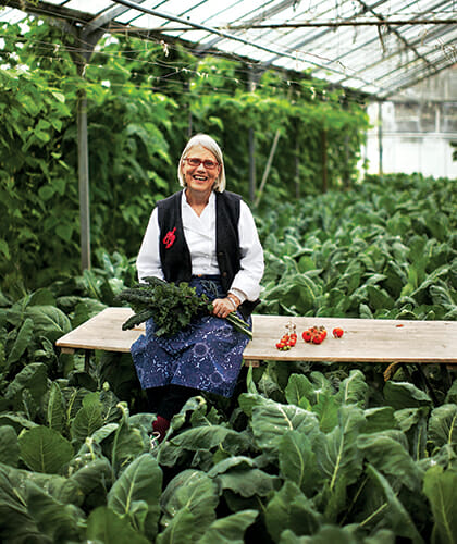 Darina Allen, founder of Ballymaloe Cookery School