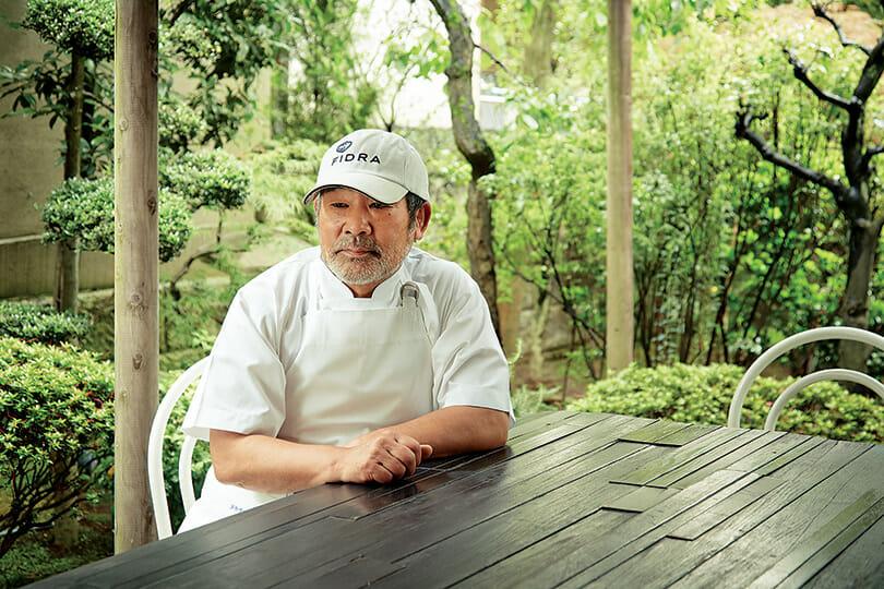 Chef Toshio Tanabe at Ne Quittez Pas