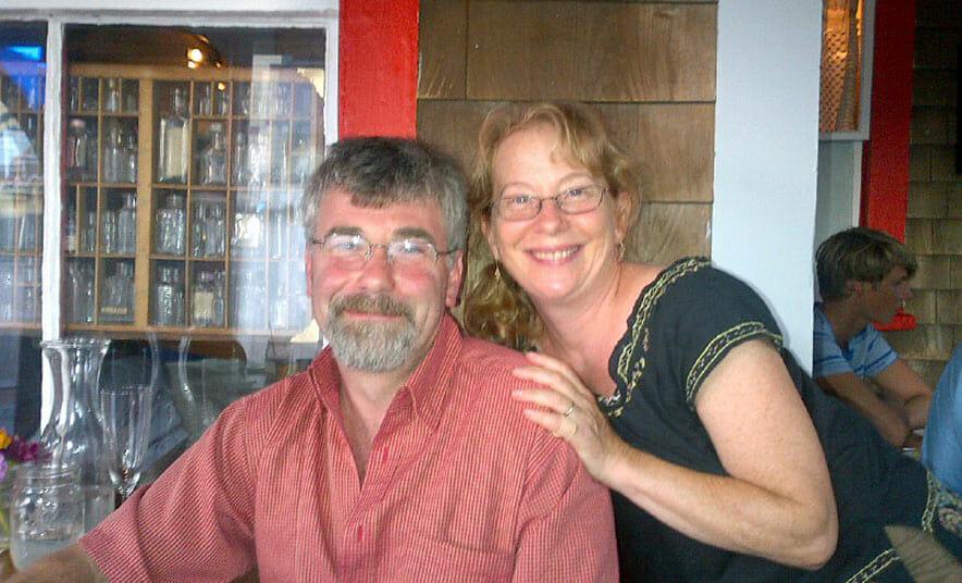 Heidi Feldman and Curtis Friedman.