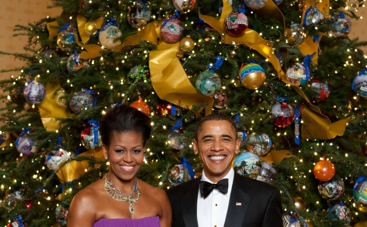 This Is How You Grow the Obamas' Christmas Tree - Modern ...