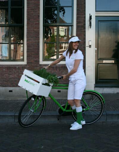 Boatanic bike delivery.