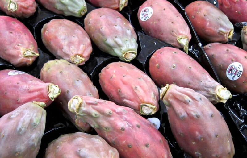 Andy Boy cactus pears from D'Arrigo Bros. Co. of California.