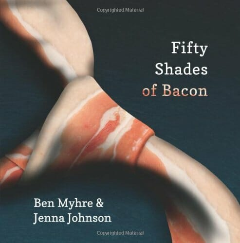 A bacon-themed satire of erotica.