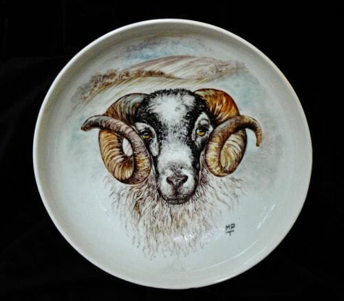 A Black Face Ram by Margaret Taylor