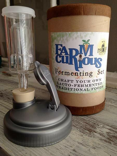 The basic FARMcurious fermenting set.