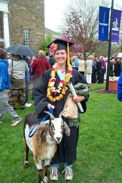 Cuzco at Nan's college graduation.