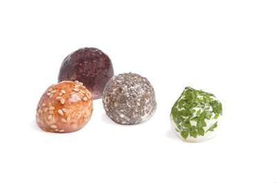 WikiPearls, or ice cream balls in their own edible skins.
