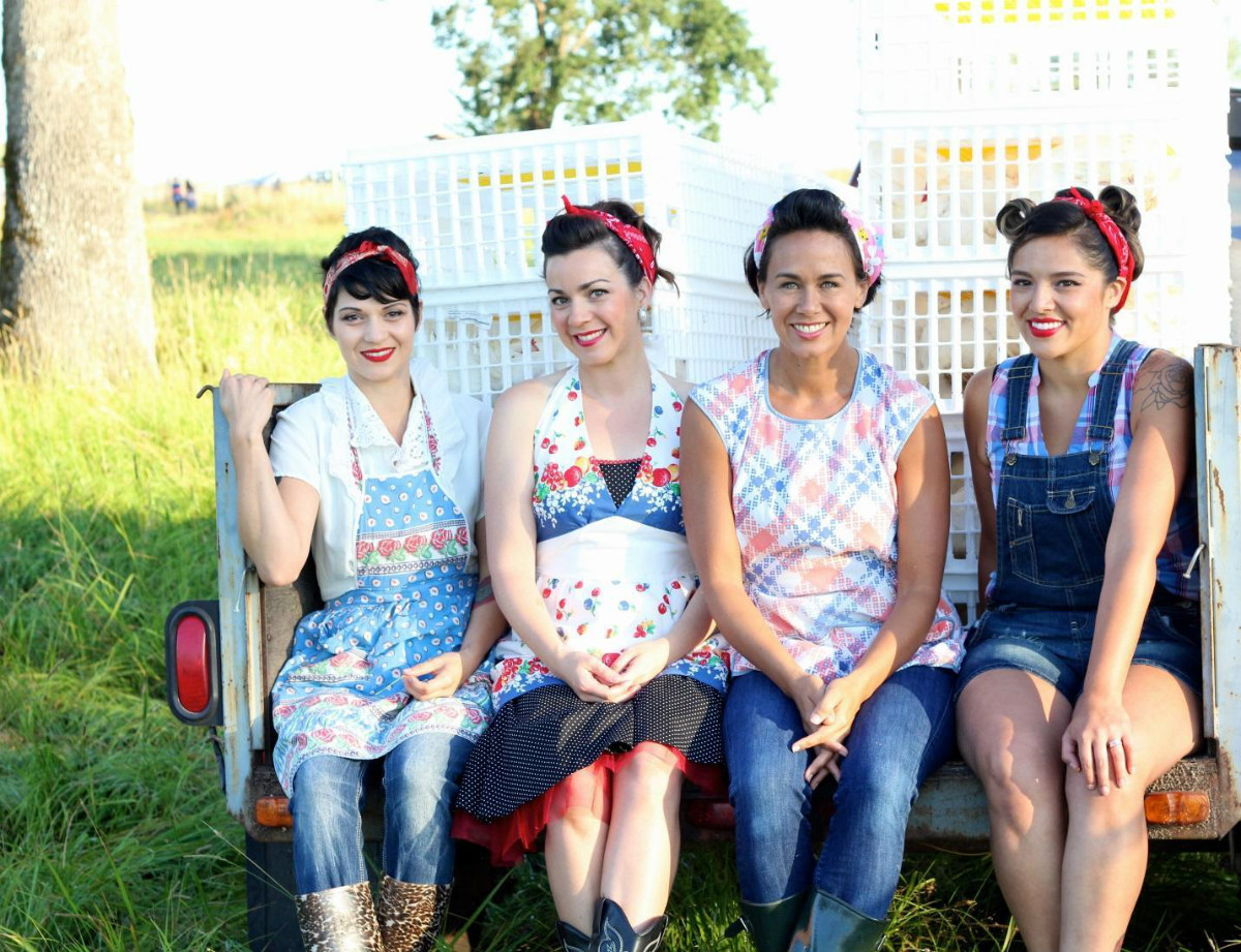 Painting the Farm Red: The Chicken-Slaughtering Pinup Girls