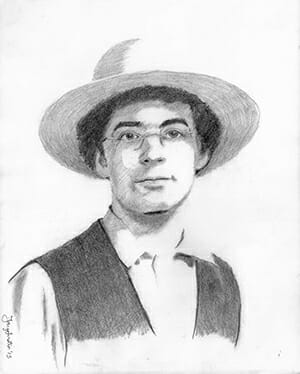 As a member of the Amish church, Kempf does not allow his face to be filmed or photographed, though sketches are permitted.