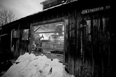 Vasseur Sugarhouse. / Courtesy Tonewood Maple.