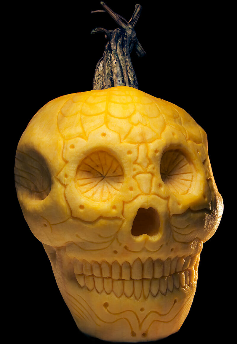 Dia_de_los_Muertos_skull_pumpkin