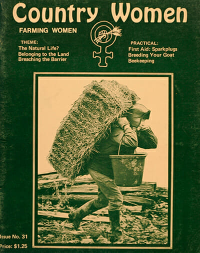A Country Women magazine cover.