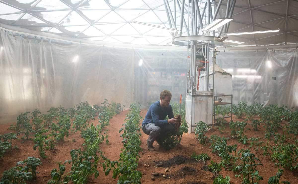 "Fact-Checking ""The Martian"": Can You Really Grow Plants on Mars?  |  Modern Farmer"