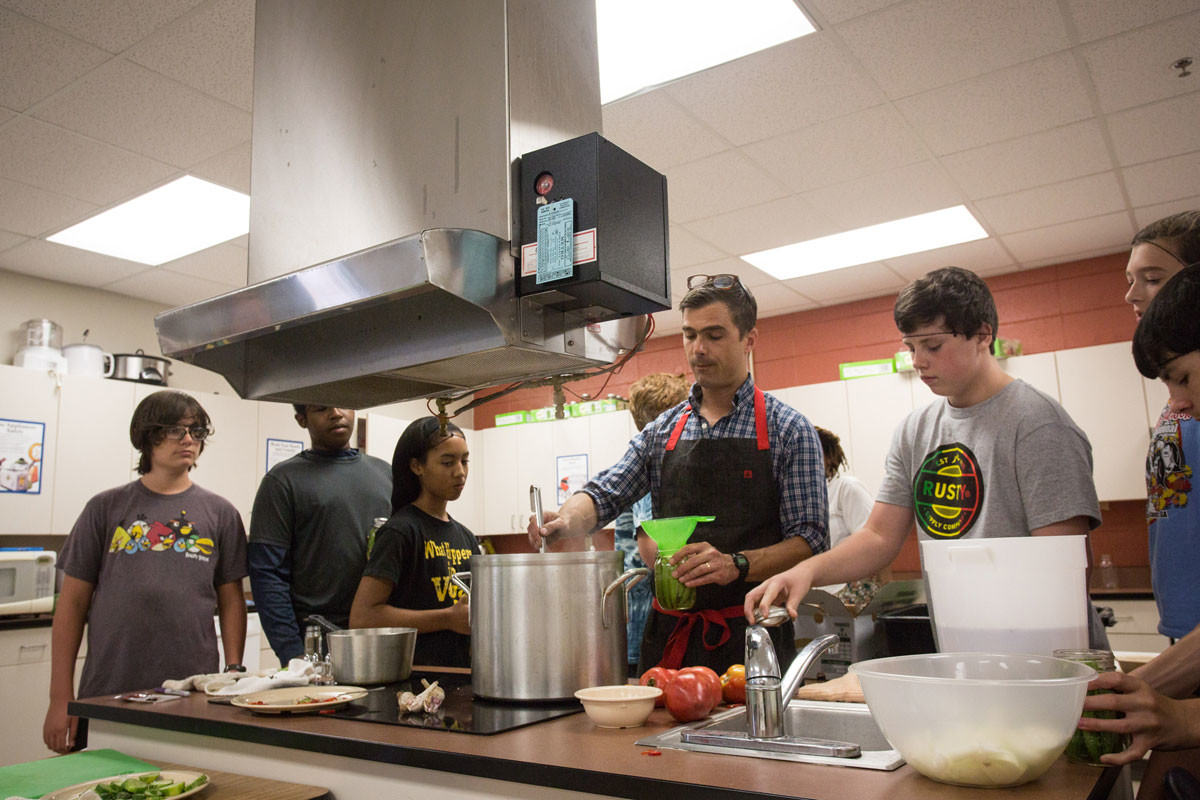 Chef Hugh Acheson Is On A Mission To Save Home Economics Modern Farmer