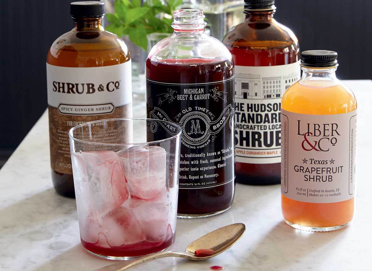 shrub vinegars