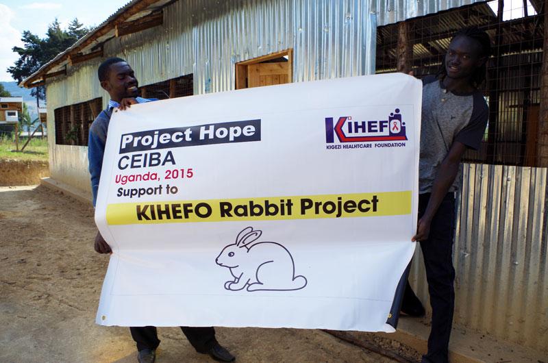 uganda rabbit breeding center