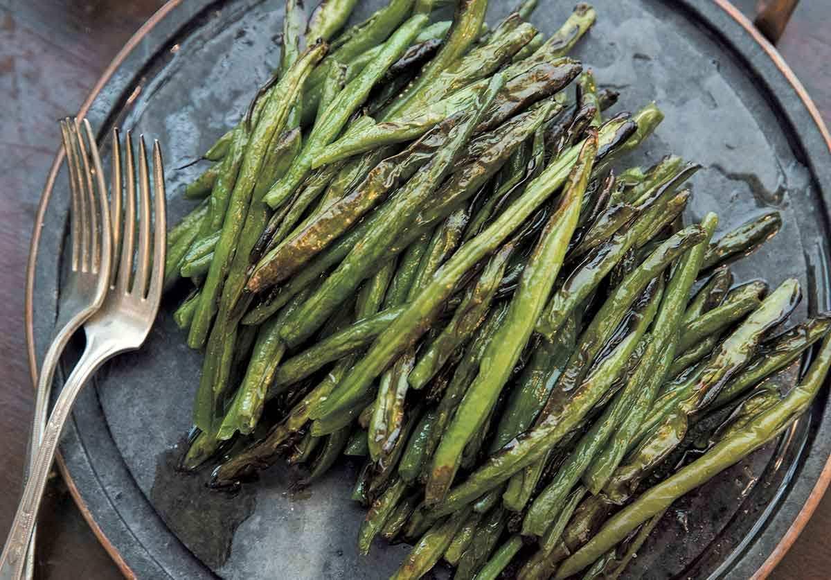 blistered green beans recipe