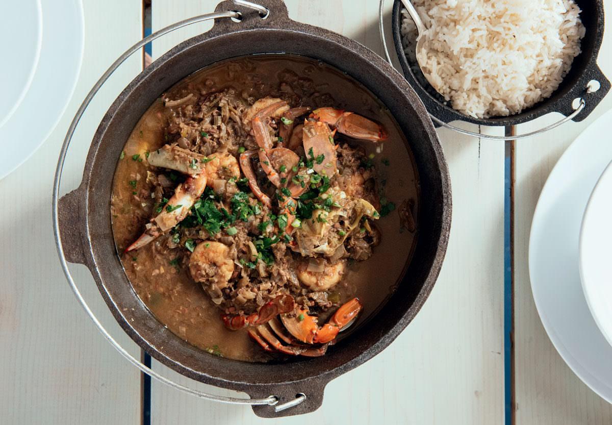 shrimp crab okra gumbo