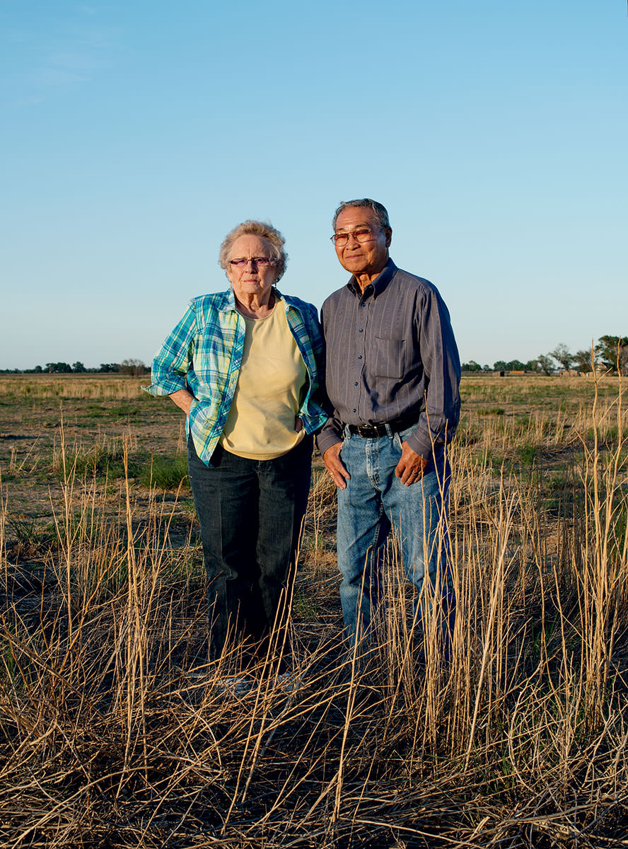 Darla and Harry Wyeno of Crowley County, CO, sold their water rights for $1,050 per share in 1976 to send their two children to college and pay off a farm loan.