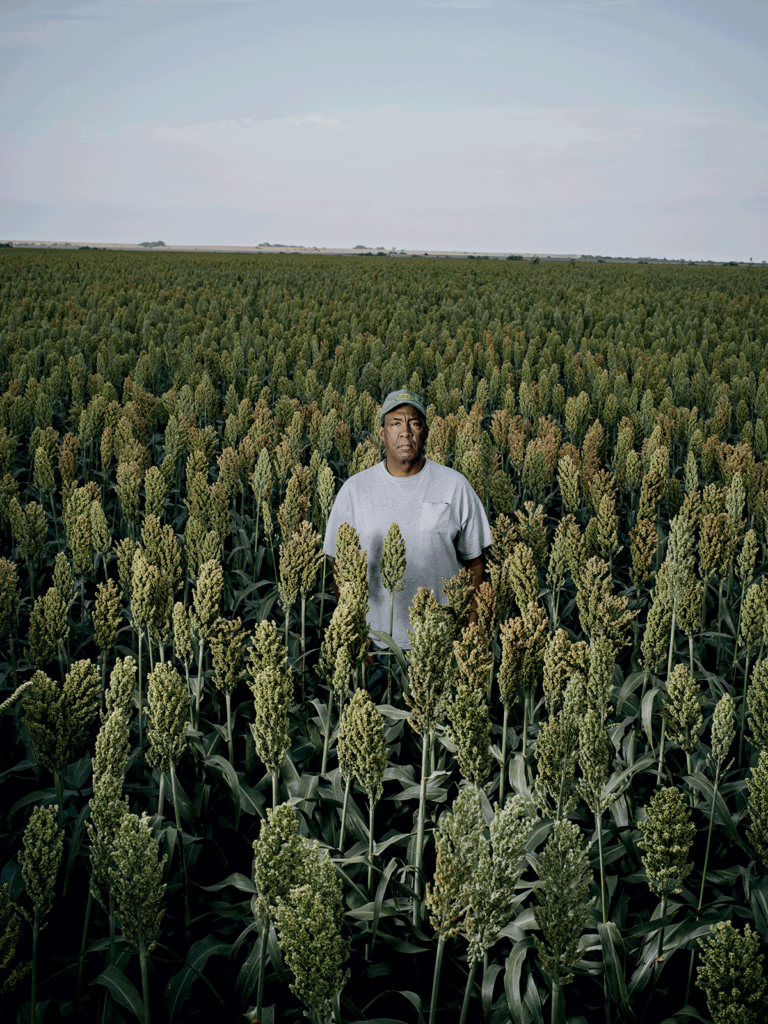White's nephew, Gillan Alexander, farms sorghum, as well as wheat and soybeans, on 1,100 acres, some of which have been in his family since the 1870s.