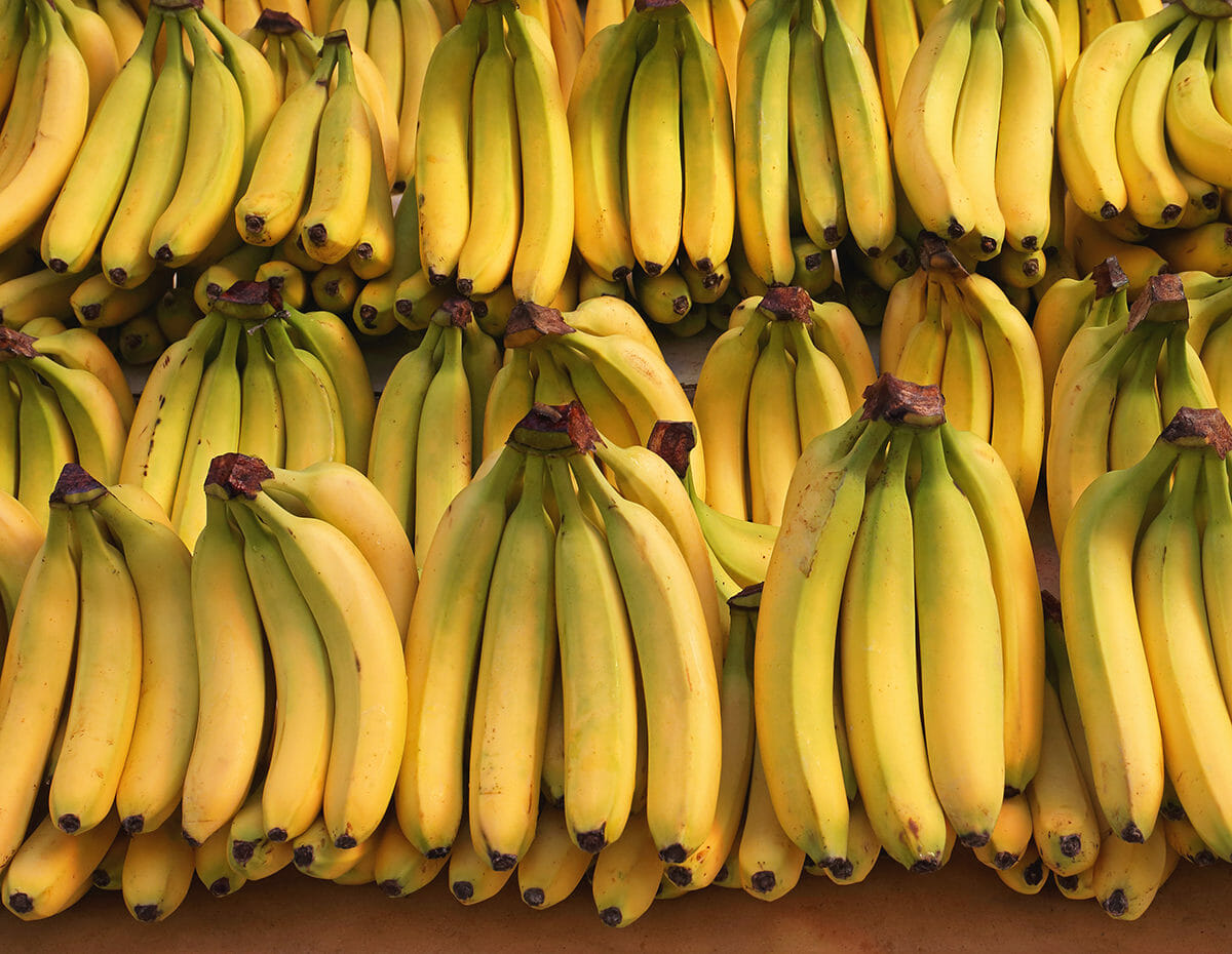 what's most likely to be found in supermarket food waste? bananas