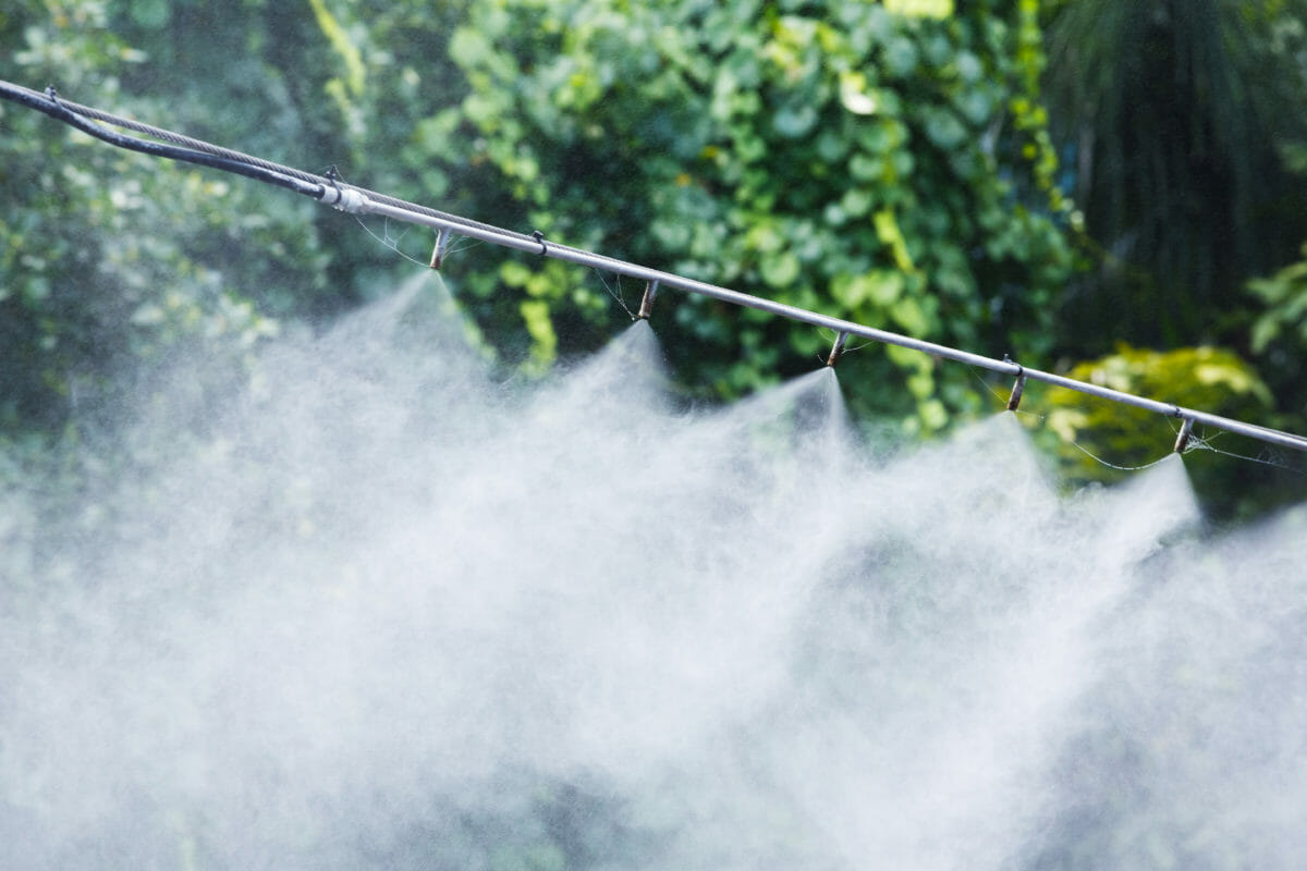 DIY Misting System for Your Greenhouse, Barn, or Patio Party