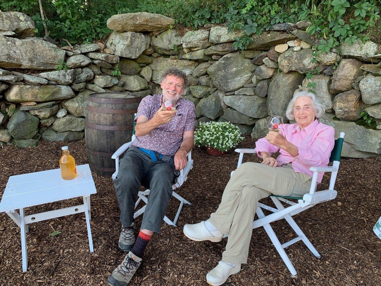 This 92-Year-Old Farmer Wants You to Drink in Her Orchard