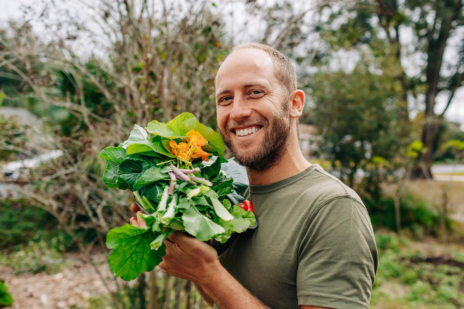 This Man Grew and Foraged All Of His Food For An Entire Year